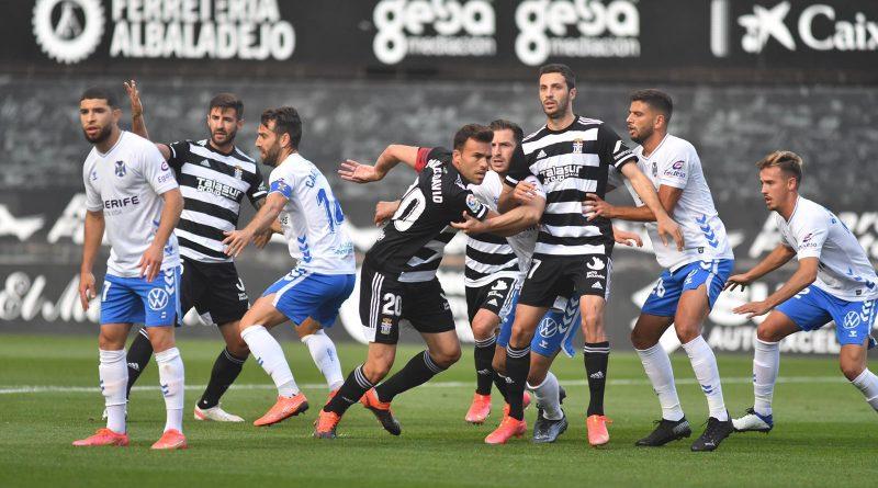 Las notas del Cartagena 0-0 Tenerife